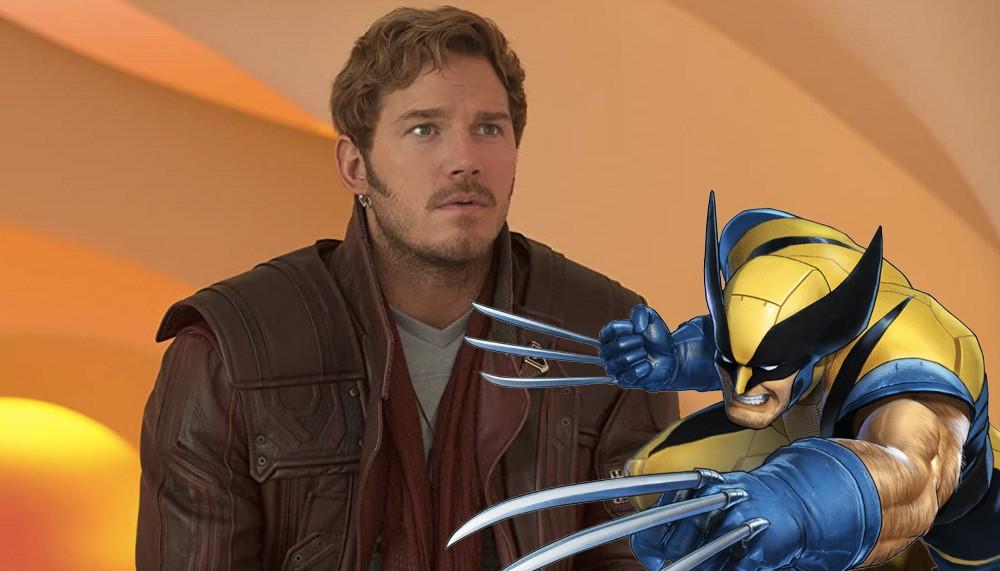 Chris Pratt convierte a Wolverine en una foto y Hugh Jackman dice que se ve lindo