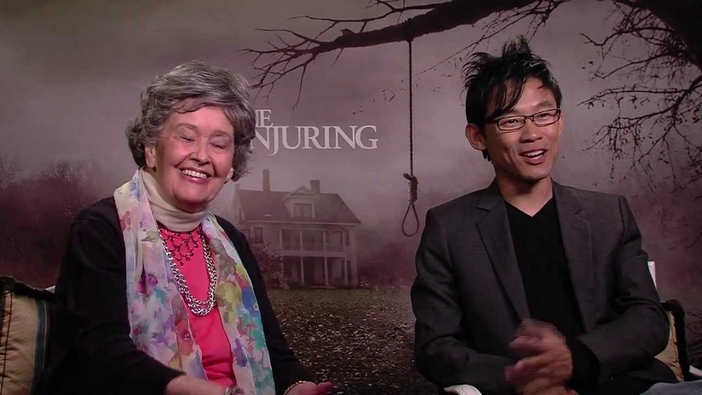 El director de Aquaman, James Wan, rinde homenaje a Lorraine Warren, la inspiradora de Invocation of Evil