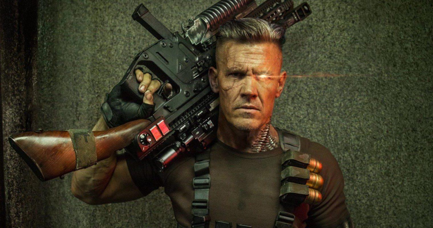 Rob Liefeld se encuentra con Cable en la foto del set Deadpool 2