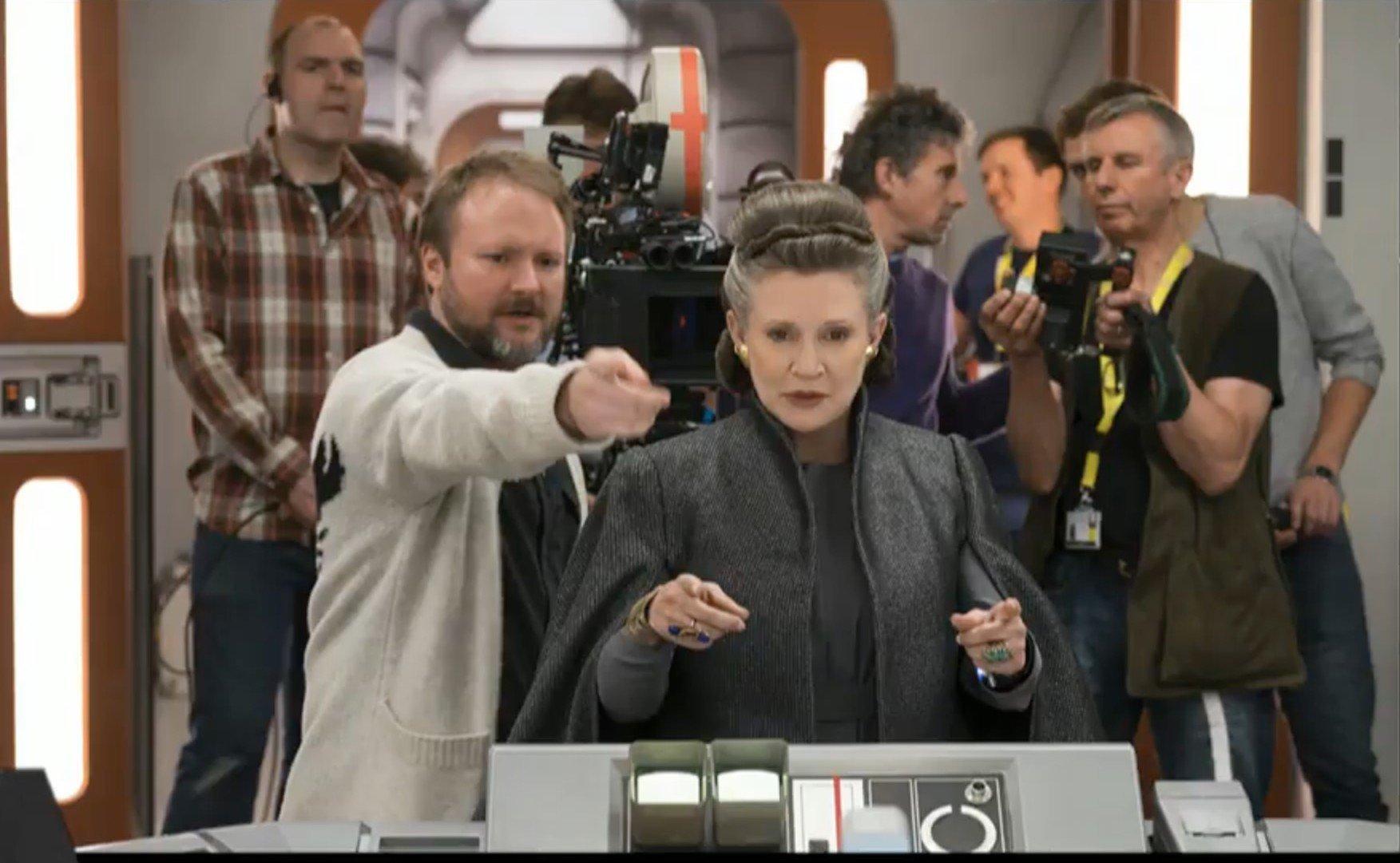 Según los informes, Rian Johnson abandonó el borrador de JJ Abrams Star Wars: Episodio VIII para The Last Jedi